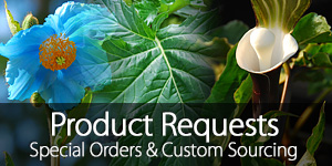 Plant and Product Special Order Form