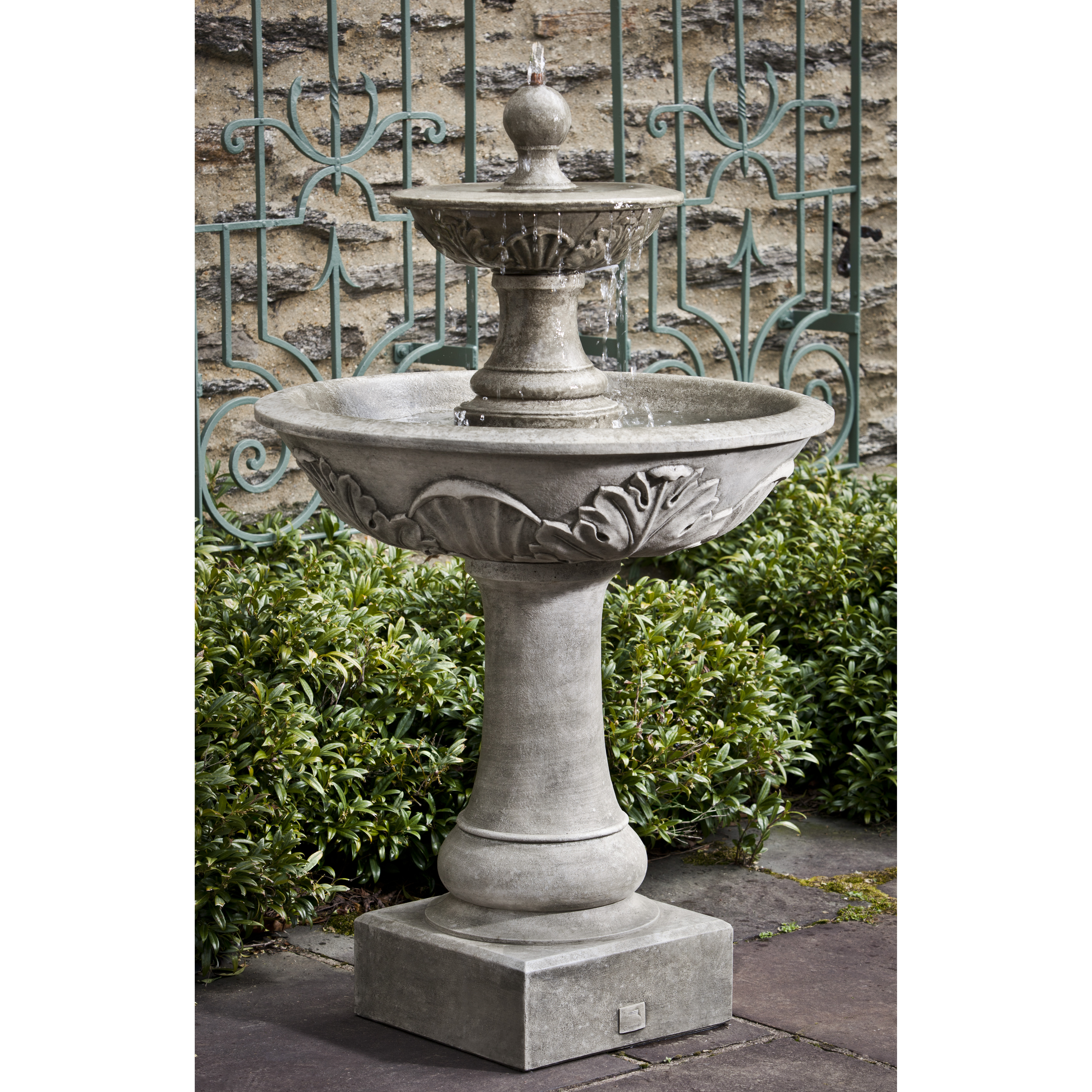 Campania - Acanthus Two Tiered Fountain