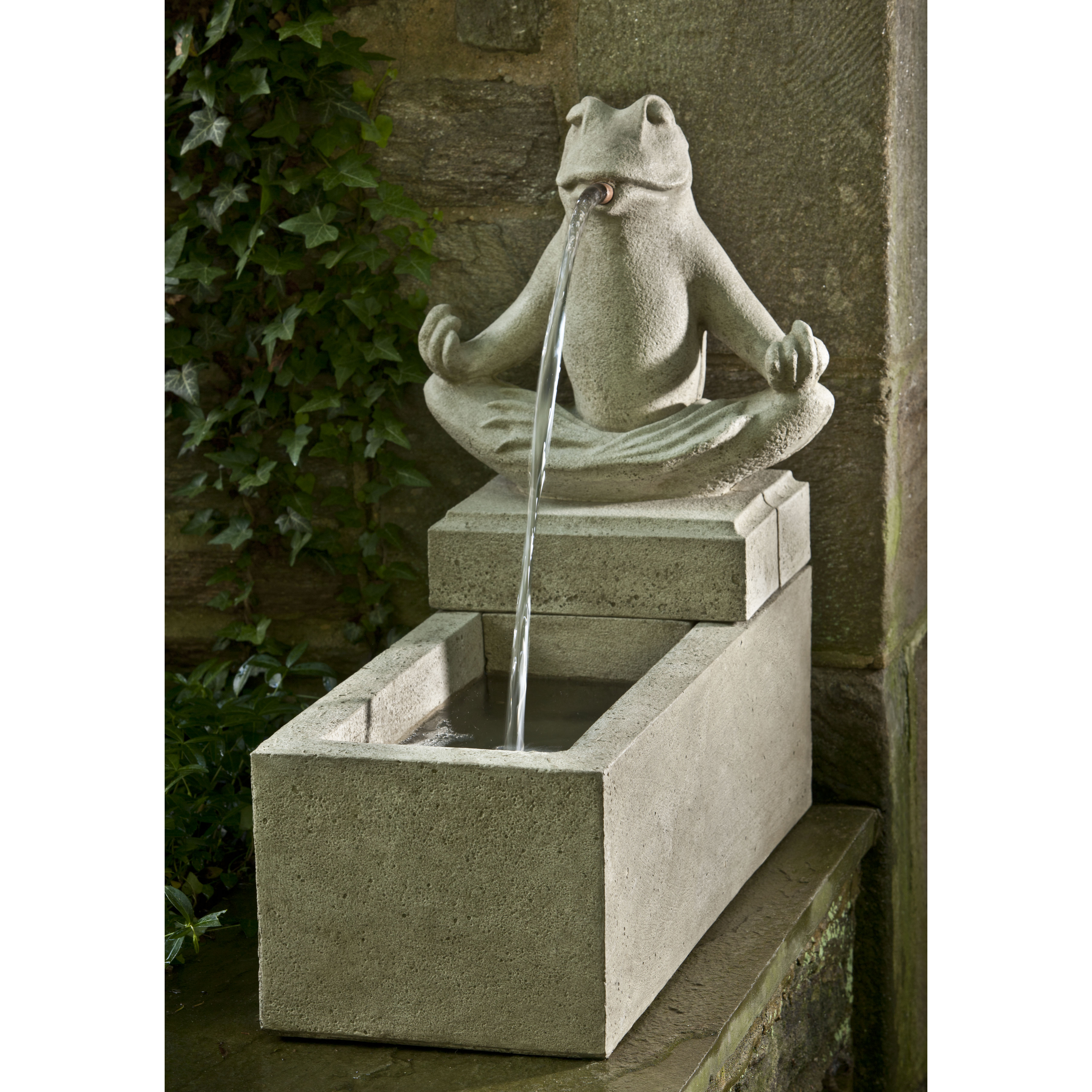 Campania - Zen Plinth Fountain