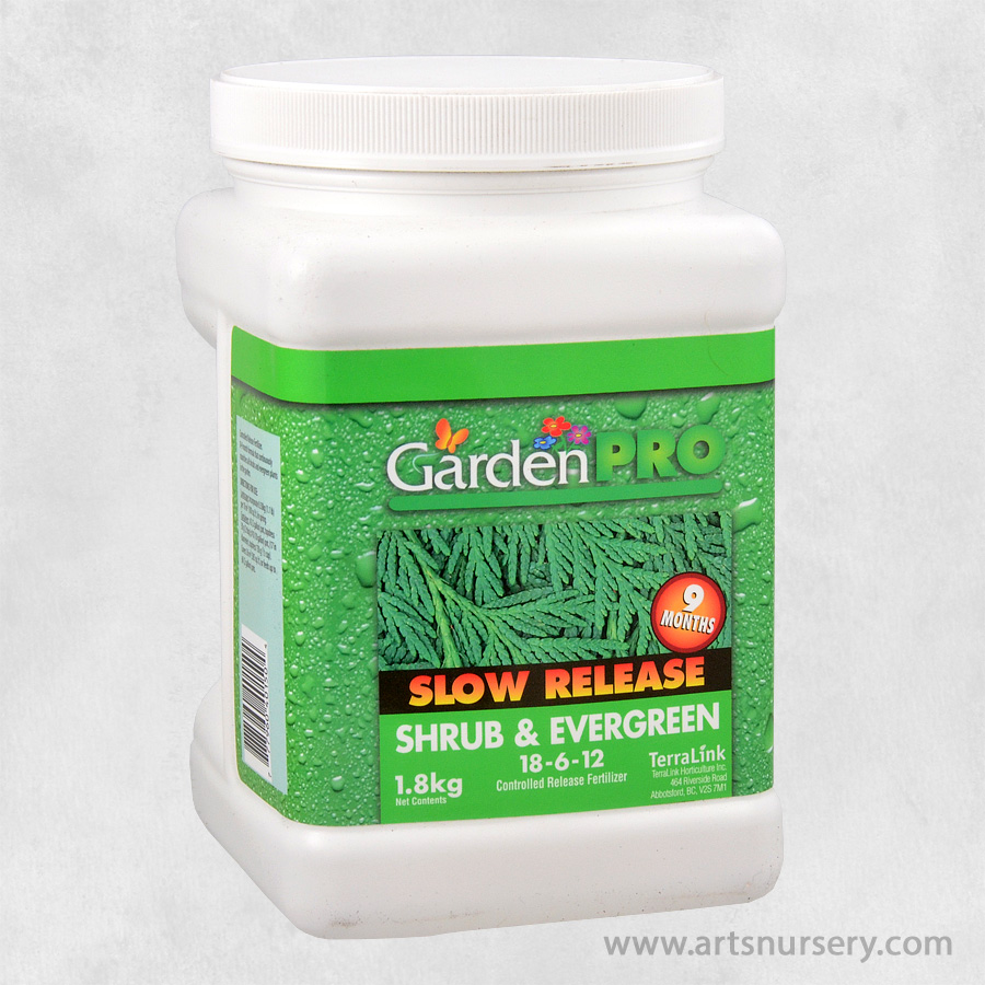 Garden Pro Slow Release Shrub and Evergreen Fertilizer 18-6-12