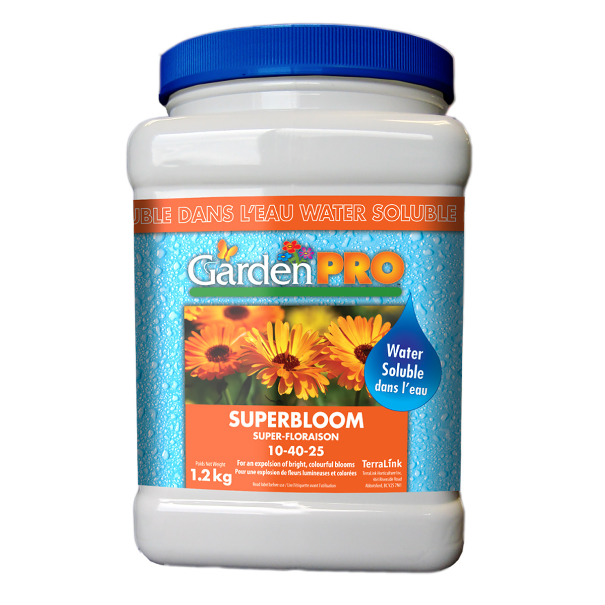 Garden Pro Water Soluble Superbloom Fertilizer 10-40-25