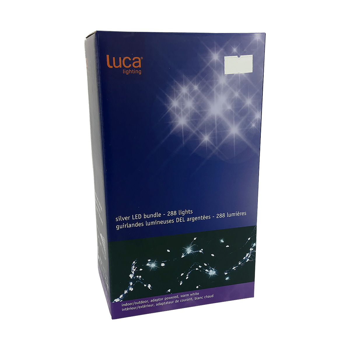 Luca Lighting LED Bundle Lights - Silver