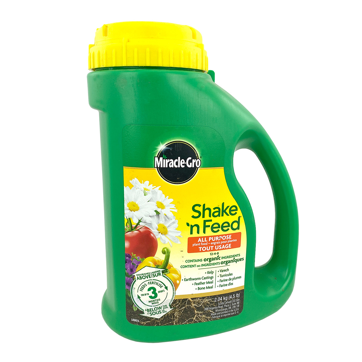 Miracle Gro Shake and Feed All Purpose 12-4-8 2.04kg