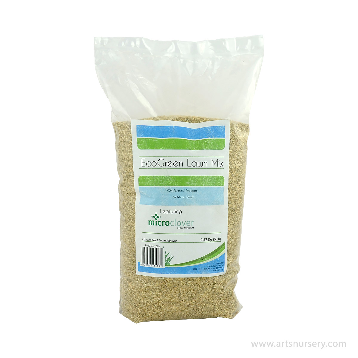 Premiere Pacific EcoGreen Lawn Seed Mix 2270g