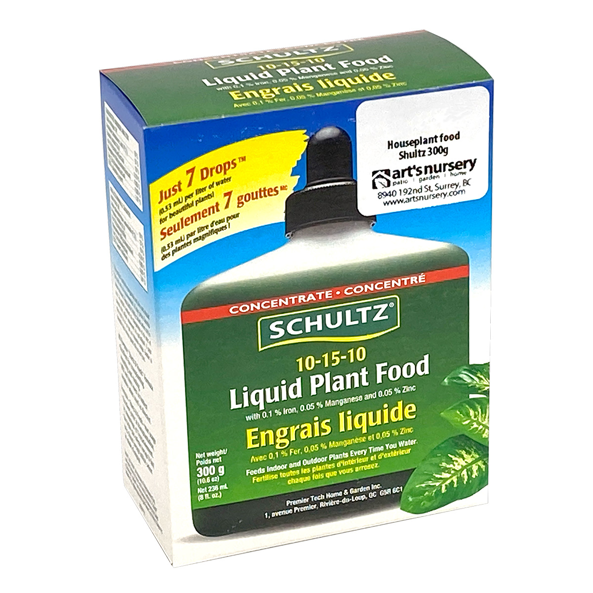 Schultz Liquid Plant Food 10-15-10 300g