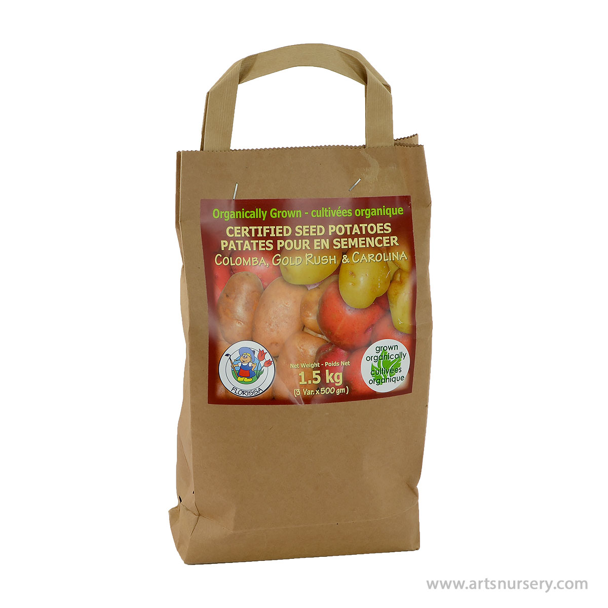 Certified Seed Potato Kit Colomba Gold Rush Carolina