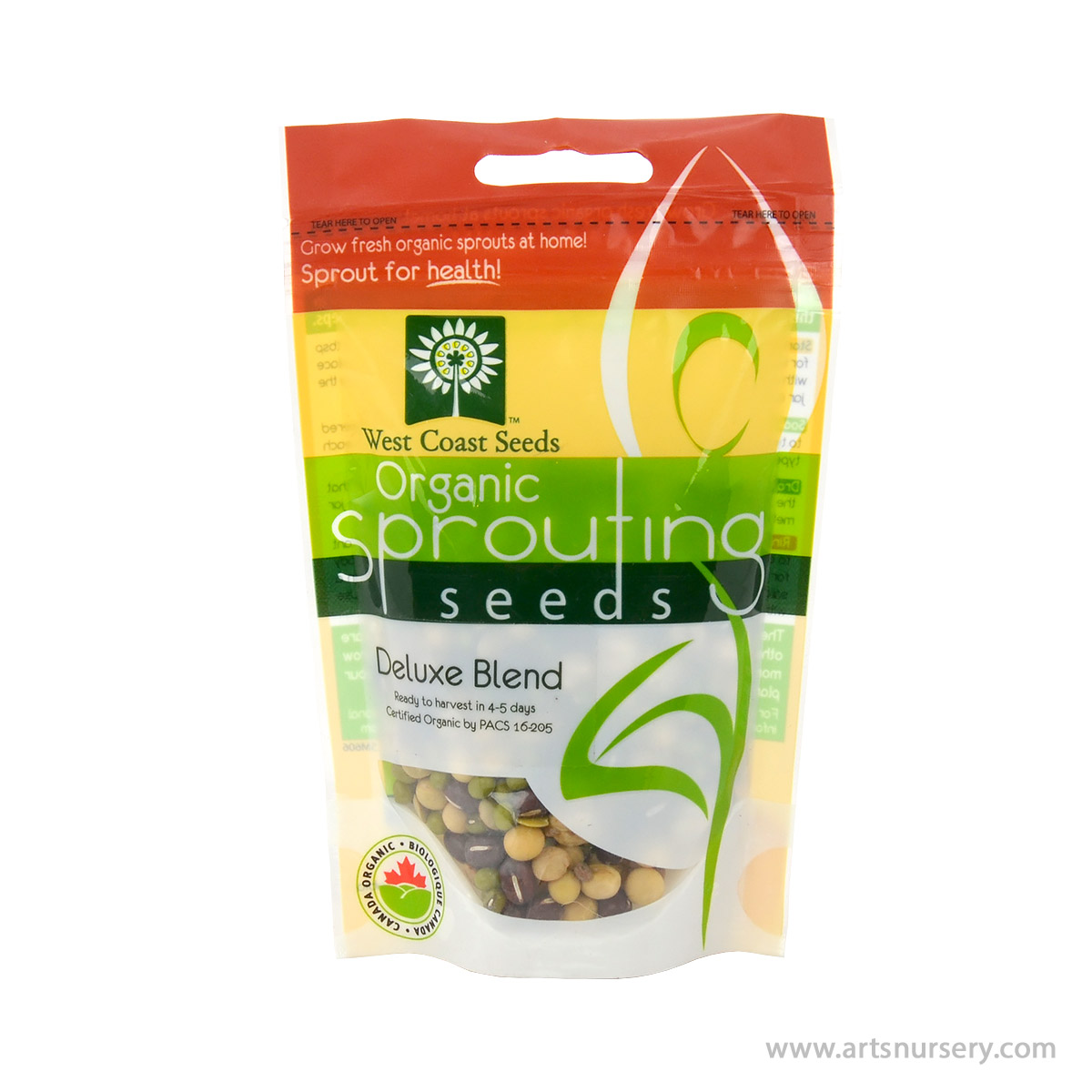 Deluxe Blend Organic Sprouting Seeds