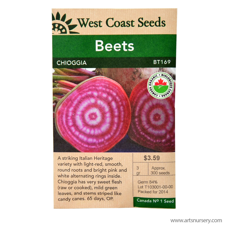 Beets Chioggia Seeds | West Coast Seeds