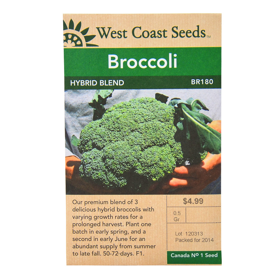 Broccoli Hybrid Blend Seeds