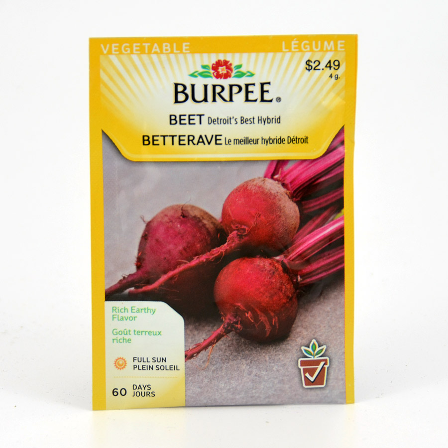 Burpee Detroits Best Hybrid Beet Seeds