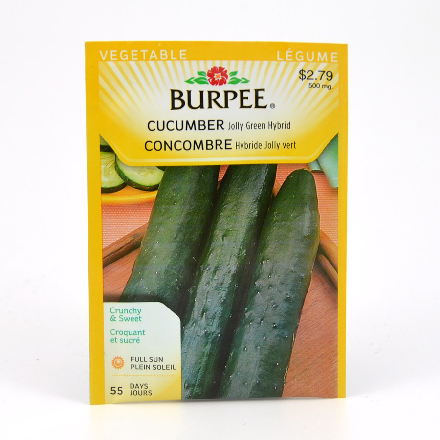 Burpee Cucumber Jolly Green Hybrid Seeds