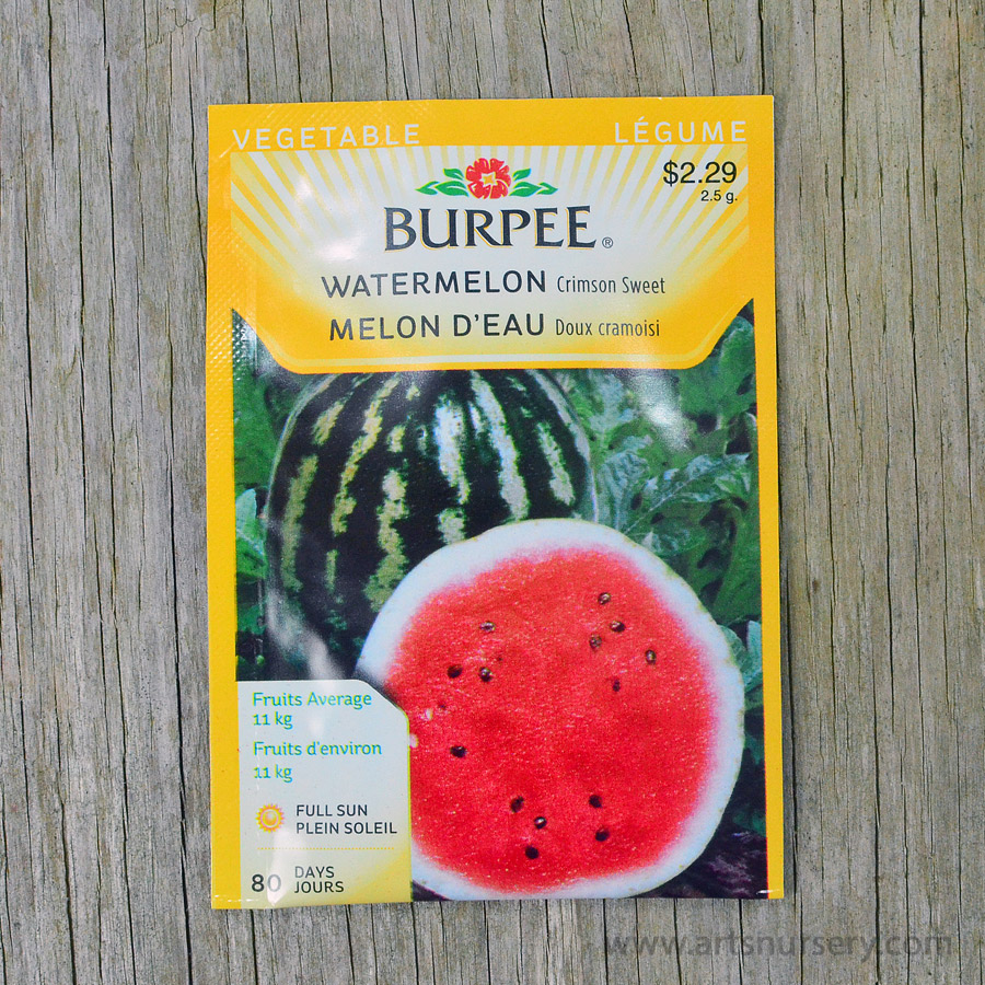 Crimson Sweet Watermelon Seeds Burpee
