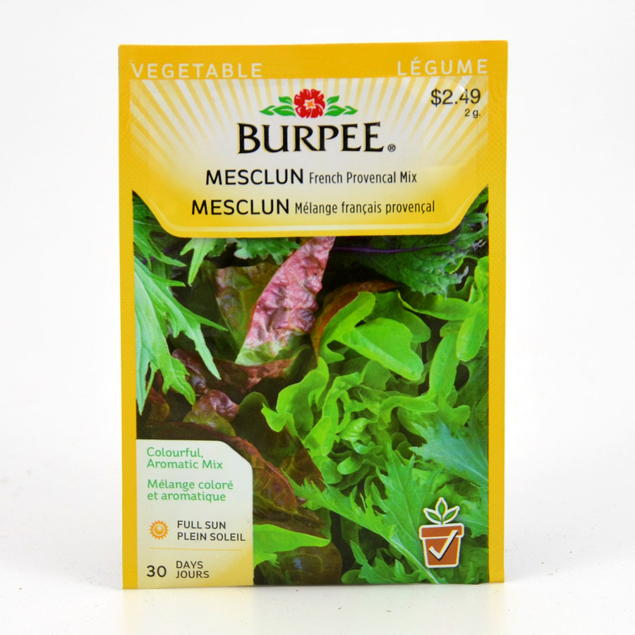 Burpee French Provencal Mesclun Seeds