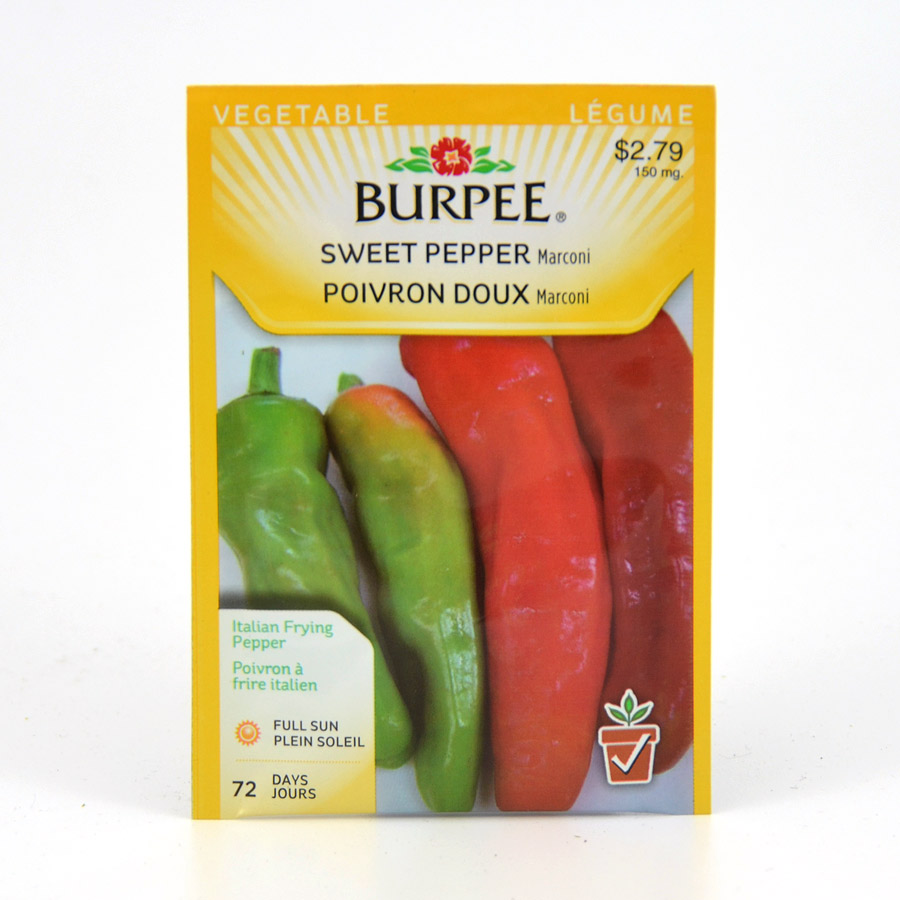 Burpee Marconi Sweet Pepper Seeds