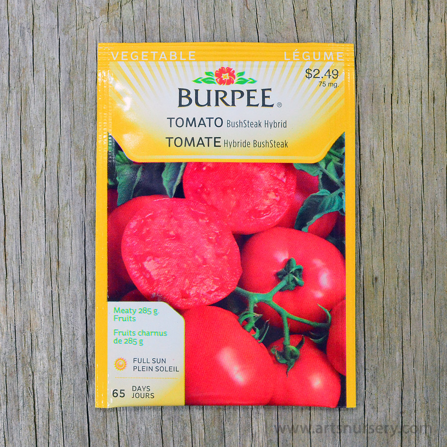 Bush Steak hybrid Tomato Seeds Burpee