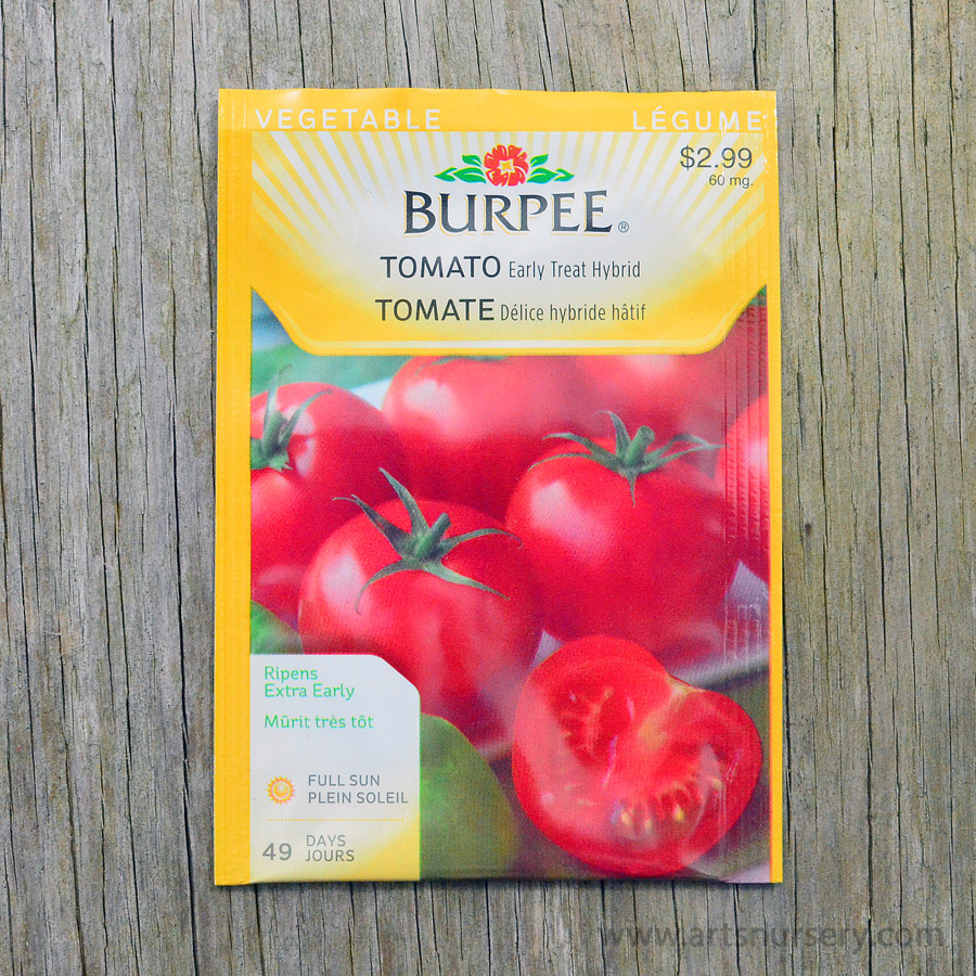 Early Treat Hybrid Tomato Seeds Burpee