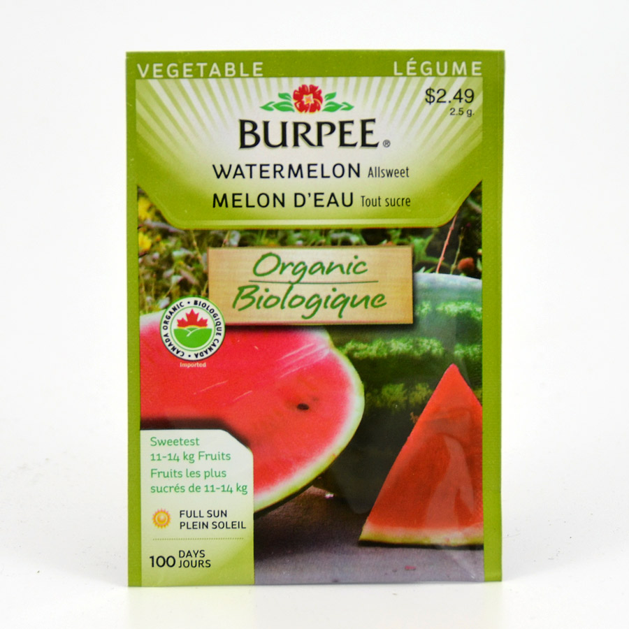Burpee Allsweet Watermelon Seeds