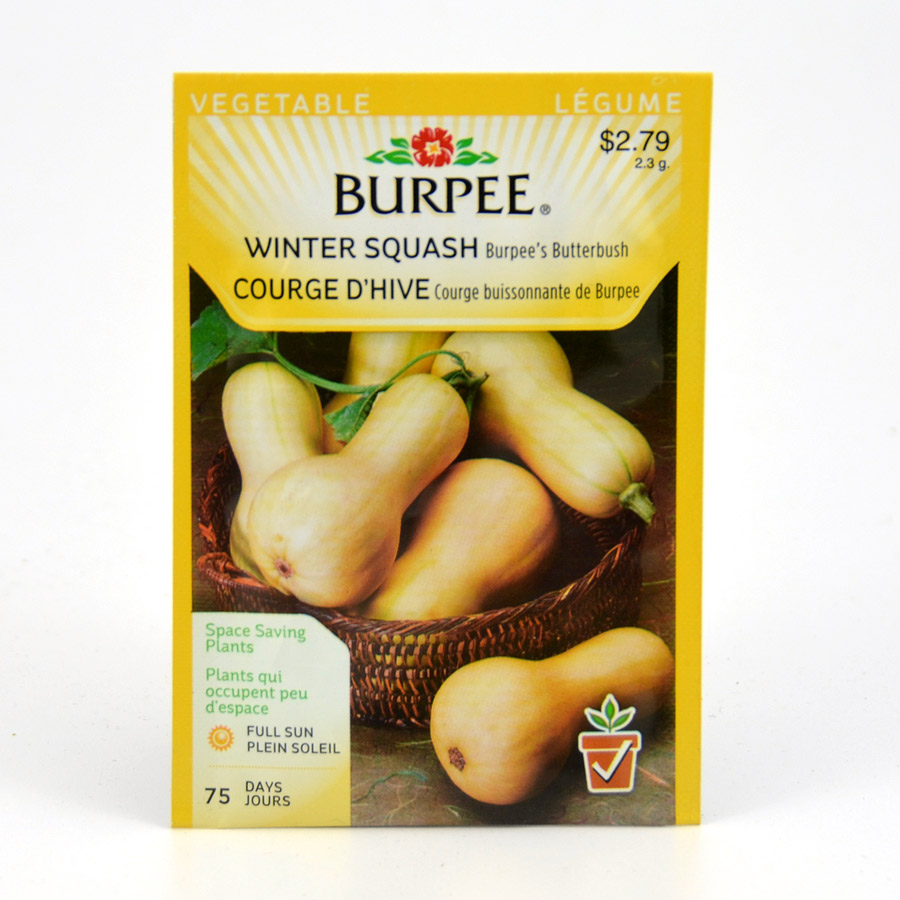 Burpee Butterbush Winter Squash Seeds
