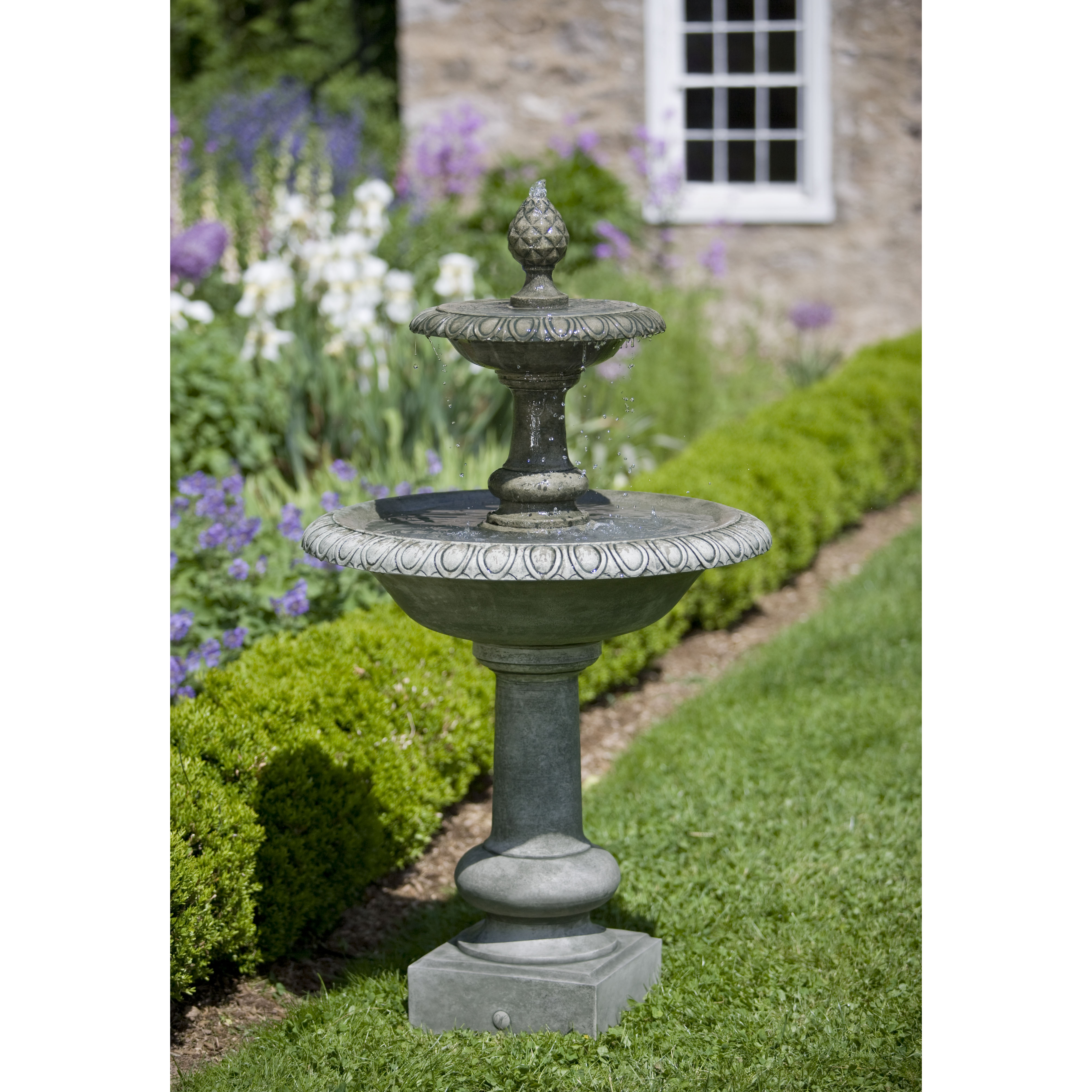 Campania - Williamsburg Pineapple Two Tier Fountain