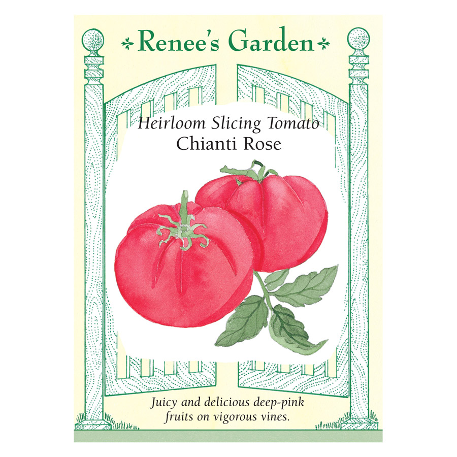 Chianti Rose Heirloom Slicing Tomato Seeds