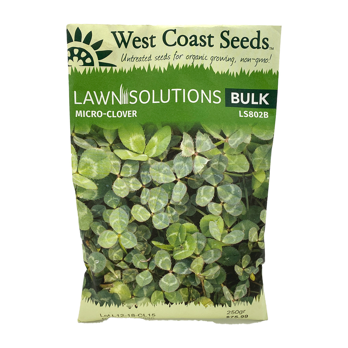 Lawn Solutions Microclover Bulk 250g
