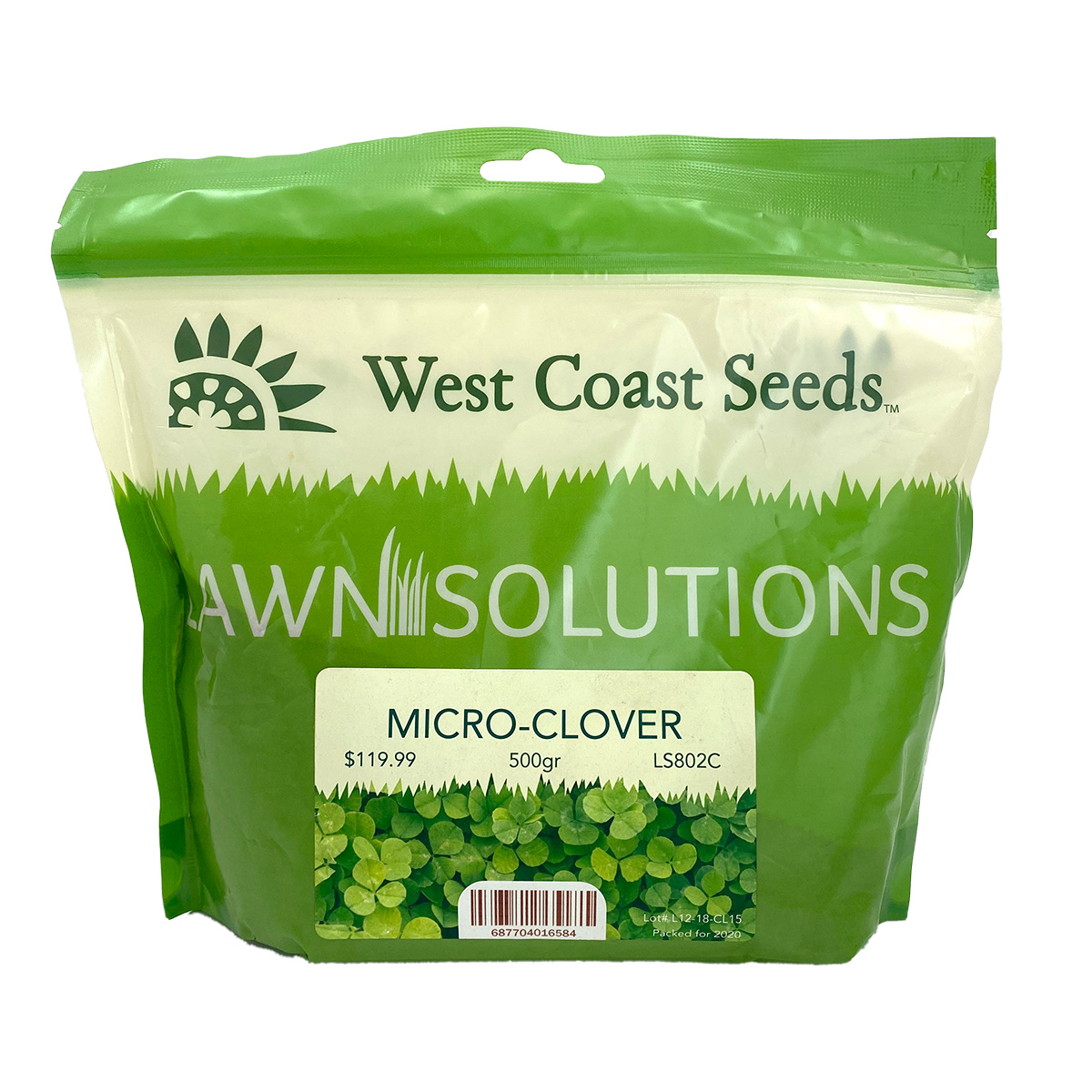 Lawn Solutions Microclover Bulk 500g